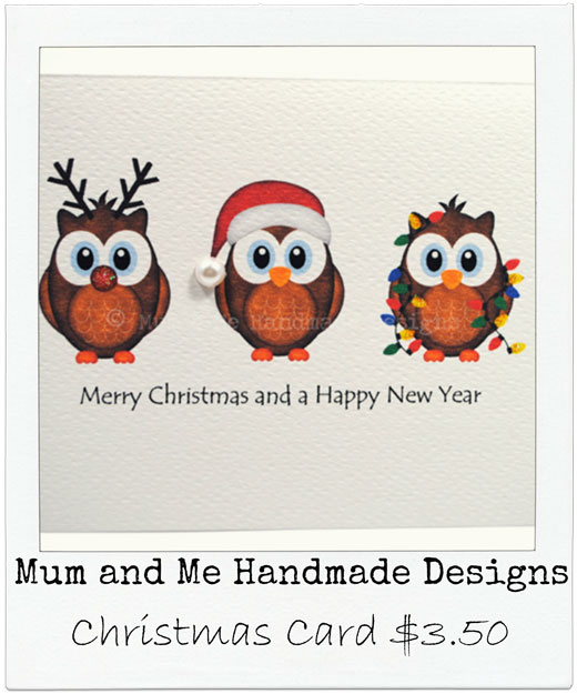 Mum and Me Handmade Let's go Christmas Shopping! Handmade Decorations, Stockings, cards & more..