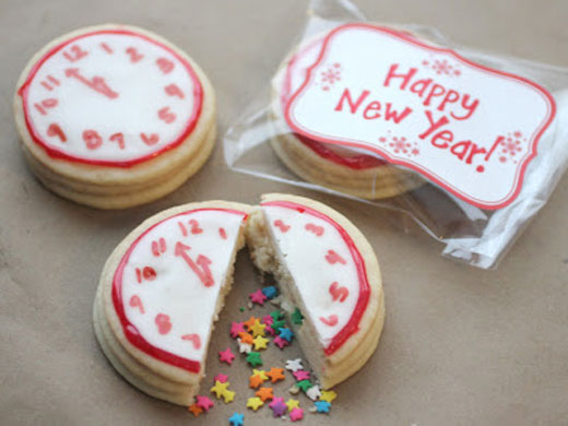 NewYearsCookies 10 New Years Eve Craft Ideas