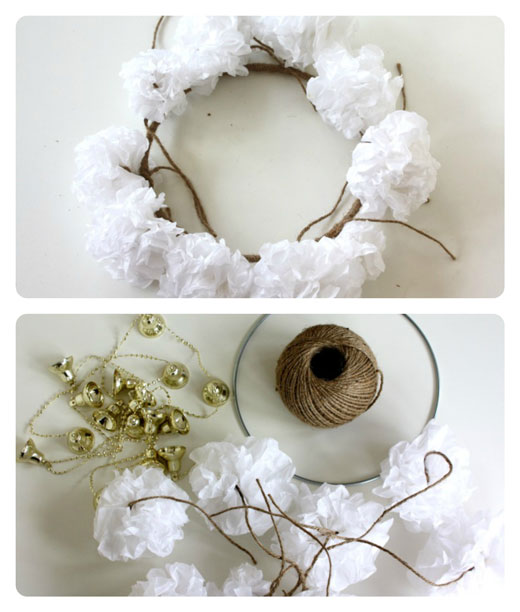 Step-4---DIY-Paper-Christmas Wreath