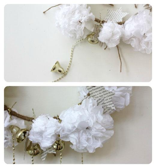 Step-5---DIY-Paper-Christmas Wreath