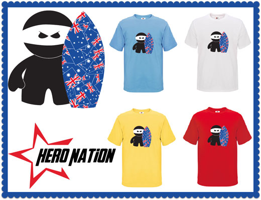 Hero Nation Surfing Ninja