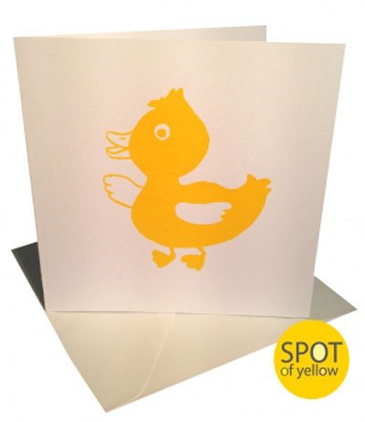 Spot-of-Yellow-Greeting-Card