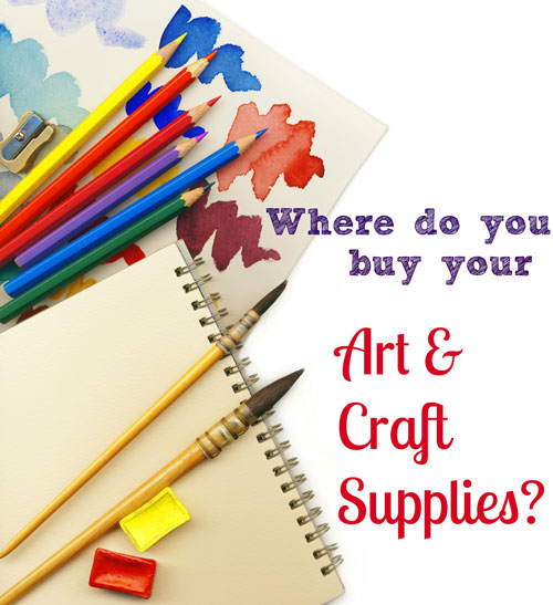 Where to get your arts and crafts supplies handmade for Arts and crafts supplies online