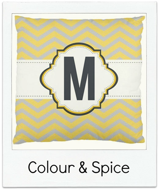 Colour-and-Spice Pillow