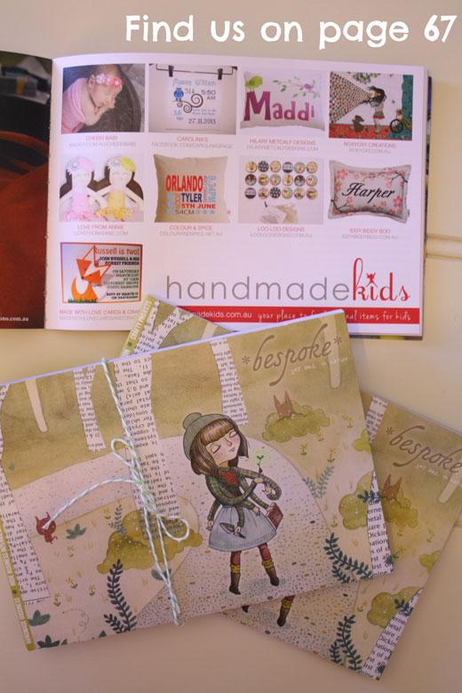 Find Handmade Kids in bespoke magazine