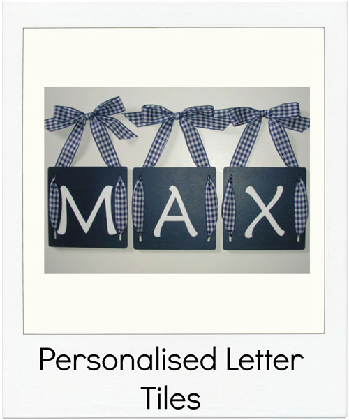 Lizzys-Letters Personalised Letter Tiles