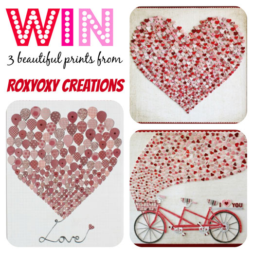 WIN with Roxyoxy Creations Win Stuff  ~ beautiful Prints from Roxyoxy Creations