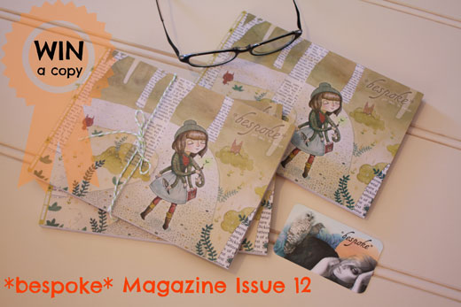 Win a copy of bespoke magaz Giveaway ~ *bespoke* Magazine