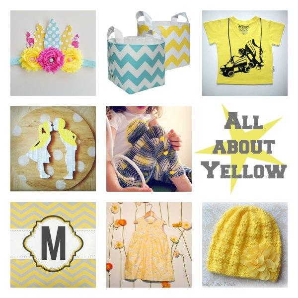 Yellow handmade Shopping Guide