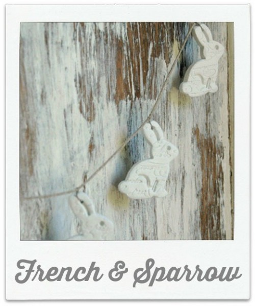 French & Sparrow Easter Garland