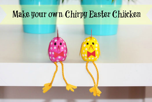 Make-your-own-Chirpy-Easter Chicken