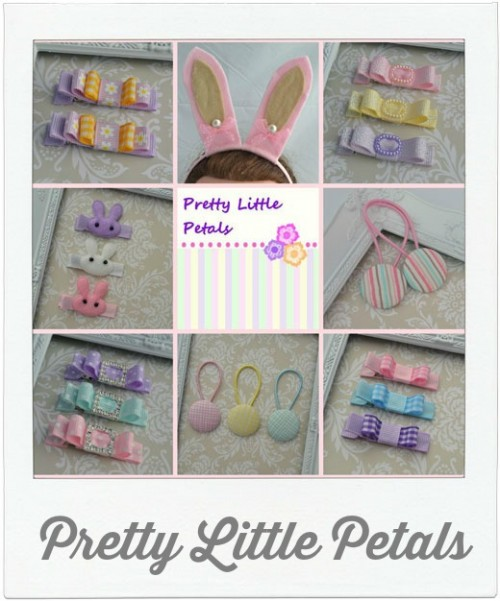Pretty Little Petals Hair clips
