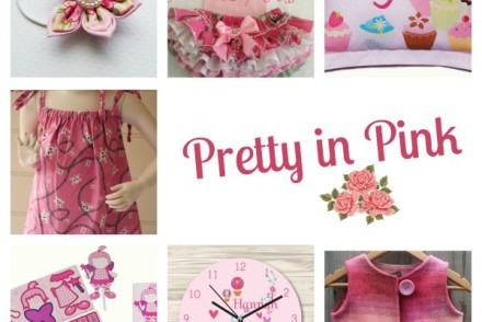 Pretty in Pink handmade shopping guide