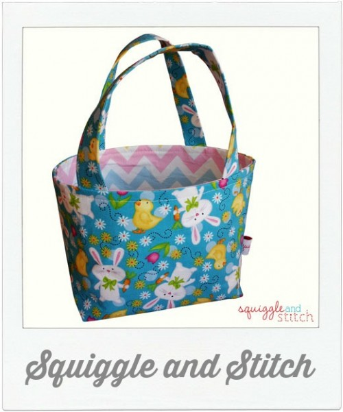 Squiggle and Stitch Easter Basket