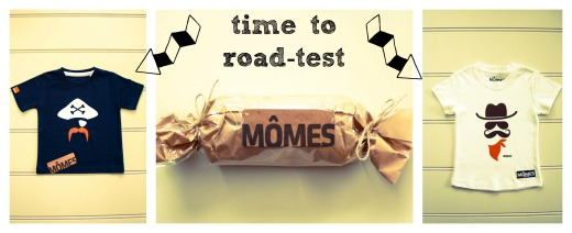 Time to road-test Momes T-shirts for little dudes