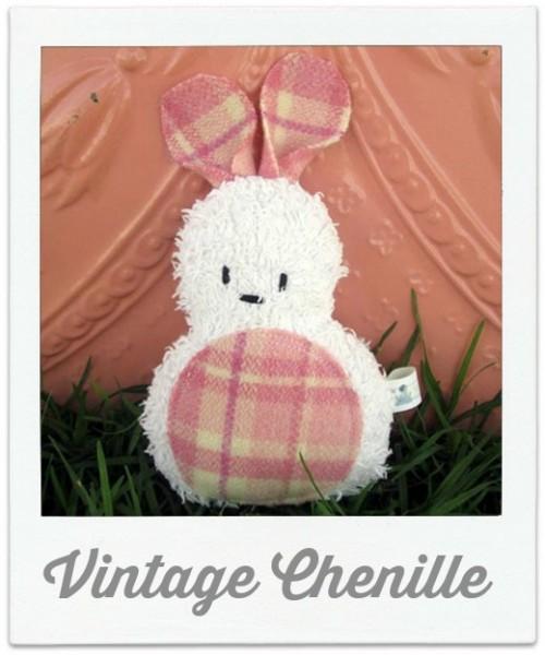 Vintage Chenille Bunny