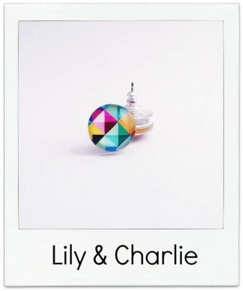 Lily-&-Charlie Geometric Studs