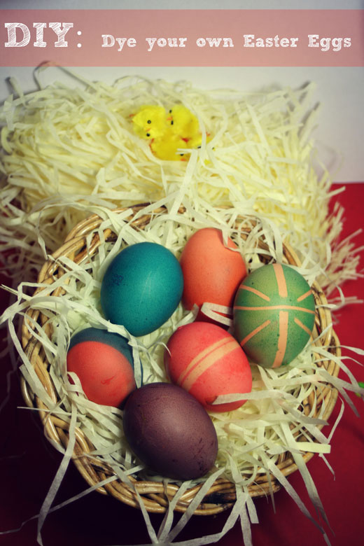 Make your own Easter Eggs  DIY  Dye your own Easter Eggs
