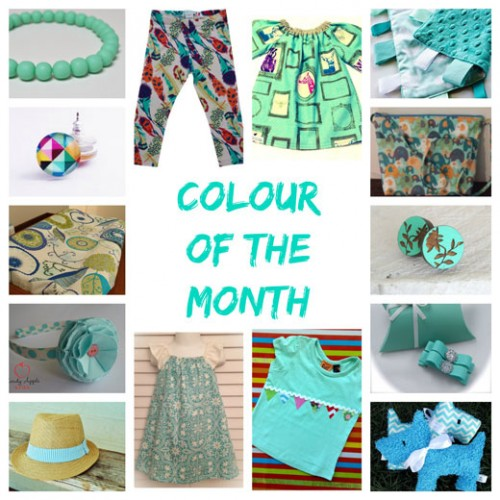 March-Colour-of-the-month at Handmade Kids