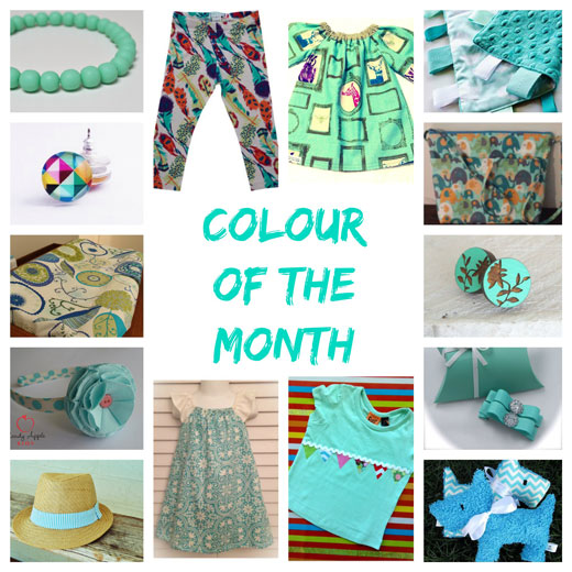 March Colour of the month The colour of March