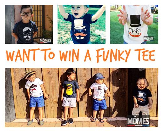 Want to win a funky tee fro WIN: Funky tees with MÔMES