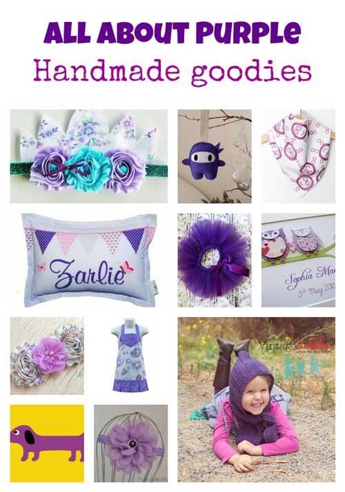All about Purple Handmade Shopping Guide