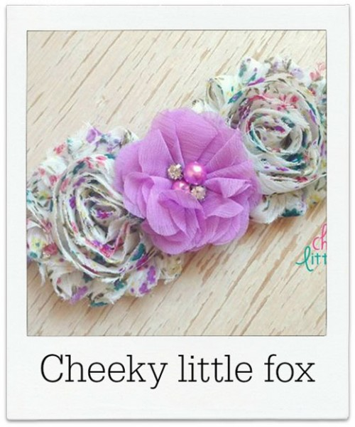 Cheeky-Little-Fox headband
