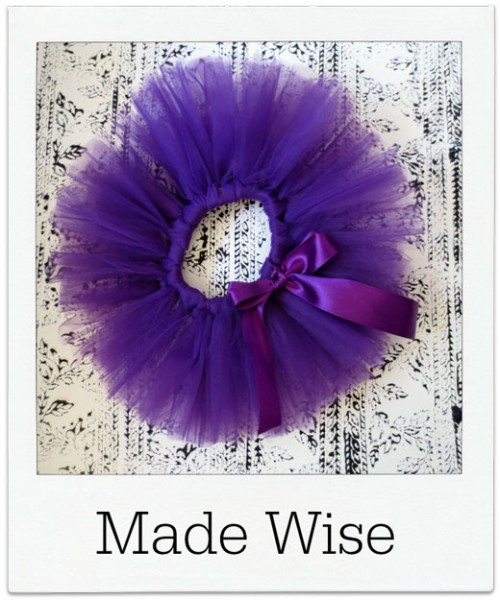 Made-Wise Purple Tutu