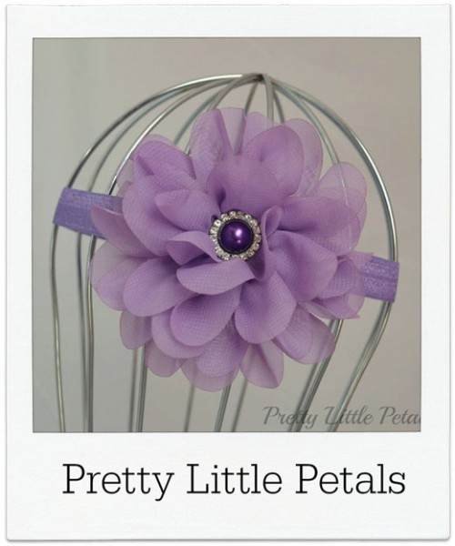 Pretty-Little-Petals headband
