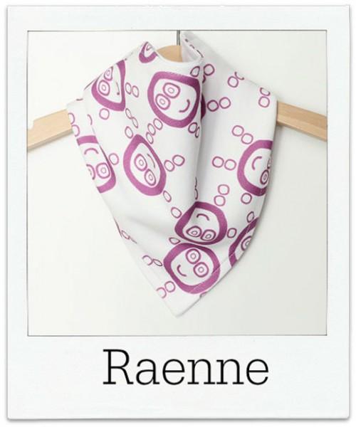 Raenne Organic Cotton Baby Bandana Bib
