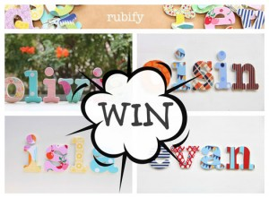 WIN--a-Rubify-Word at Handmade Kids
