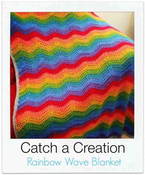 Catch-a-Creation Rainbow Blanket