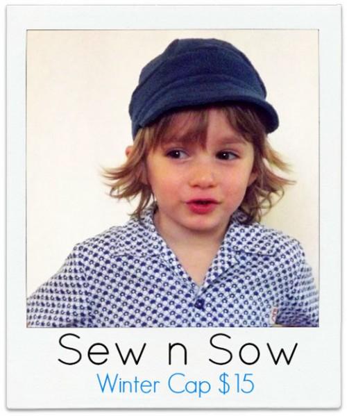 Sew-n-Sow Boys Winter cap