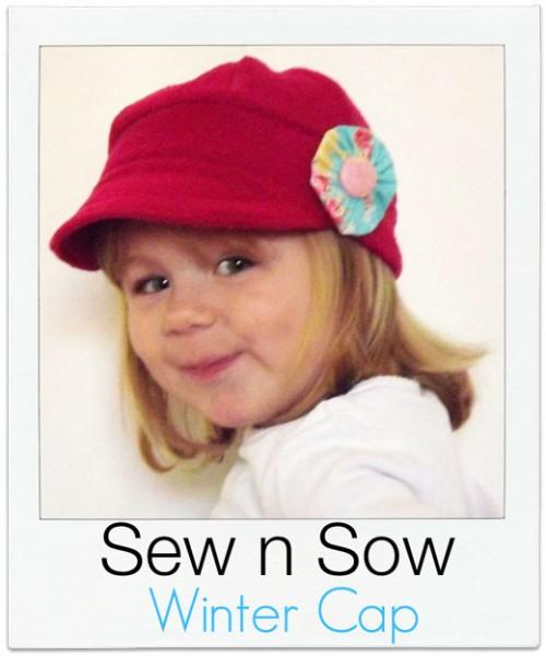 Sew-n-Sow Winter Cap