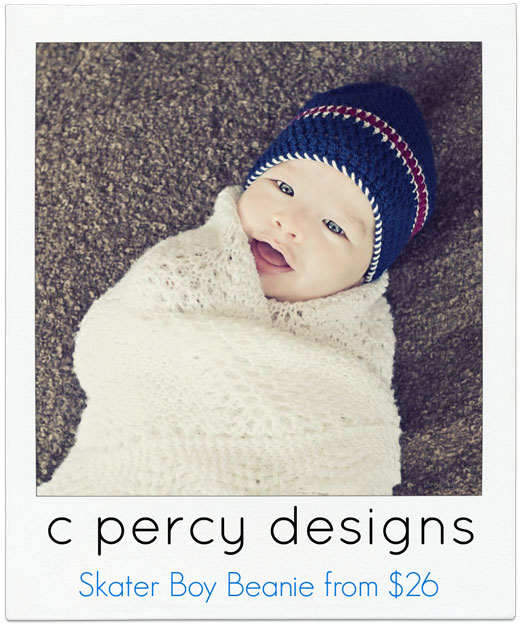 c-percy-designs knitted beanie
