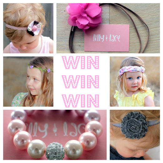 WIN with Lilly and Lace WIN:  with Lilly and Lace