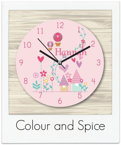 Colour-and-Spice Clocks