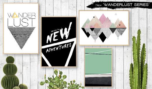 Wanderlust Series by May an WANDERLUST SERIES new adventures begin now!