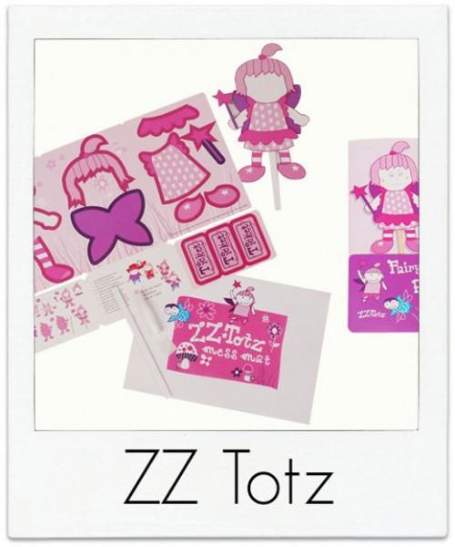 ZZ-Topz Fairy Paper Puppet Kit