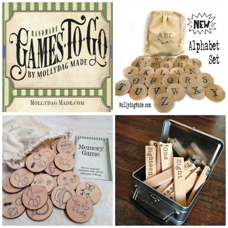 Games to Go- wooden games