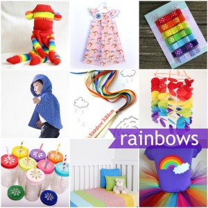 Rainbow handmade collection