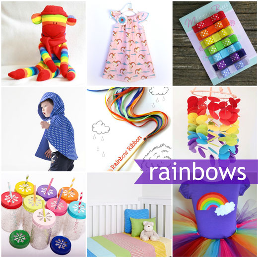 Rainbow handmade collection