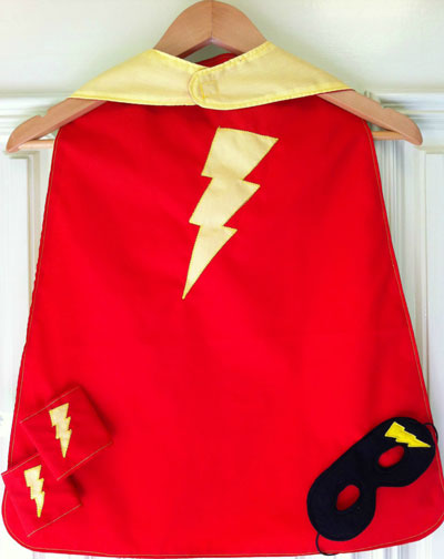 Super hero cape Christmas Gift Guide   need a super hero?