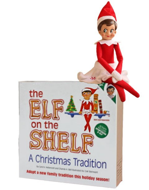 The Elf on the Shelf Girl