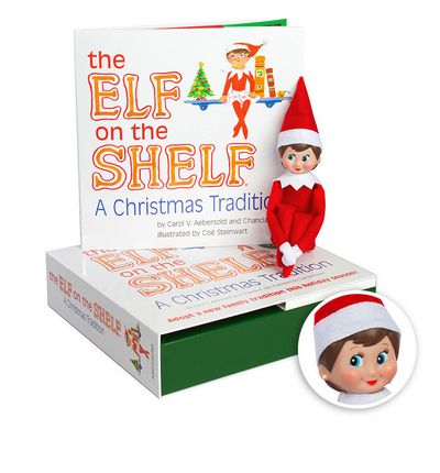 Girl Elf on the Shelf