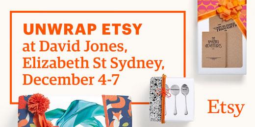 Unwrap-Etsy-at-David-Jones