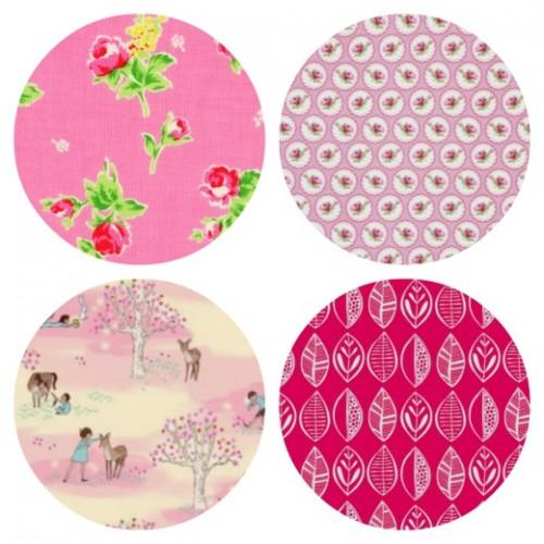 Pretty in Pink Fabrics