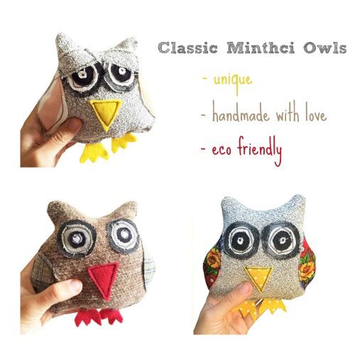 Classic Mintchi Owls