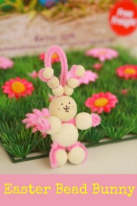 Make an Easter Bead Bunny