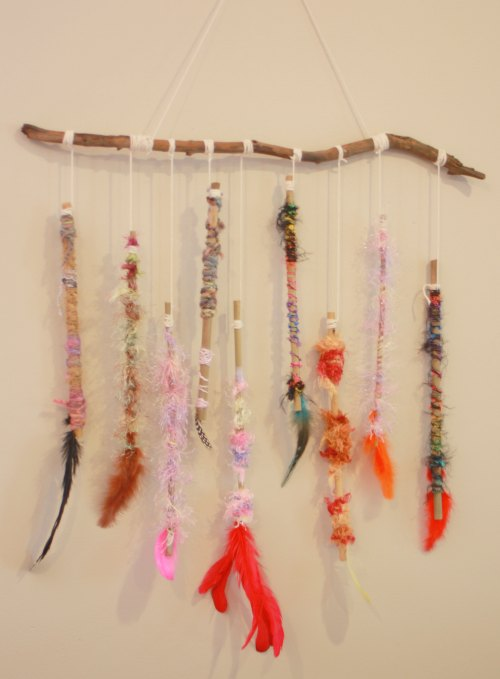 You are now finished your Dreamcatcher